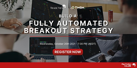Online Free Webinar - Fully Automated Breakout Strategy tickets