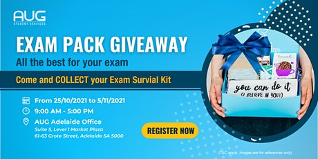 [AUG Adelaide] Exam Pack Giveaway tickets