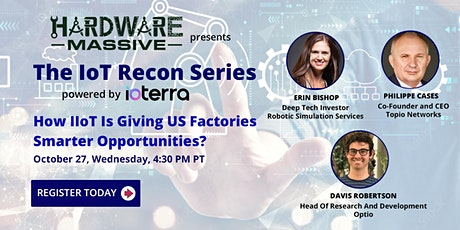 How IIoT Is Giving US Factories Smarter Opportunities? tickets