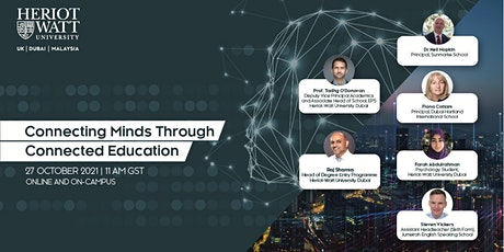 Panel Discussion: Connecting Minds Through Connected Education tickets