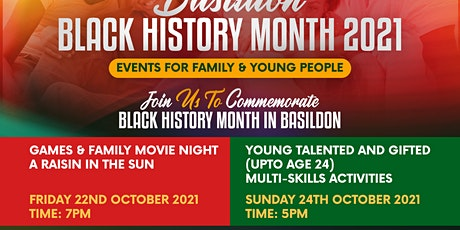 TNCG Families & Young People's Black History Month Events tickets