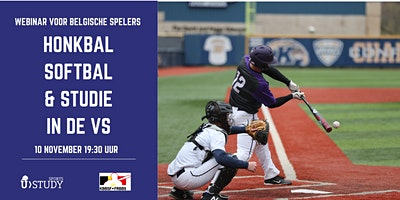 Free webinar Baseball & Softball and  Study  in the USA – Belgian players