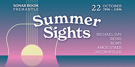 Summer Sights @ Sonar Room tickets
