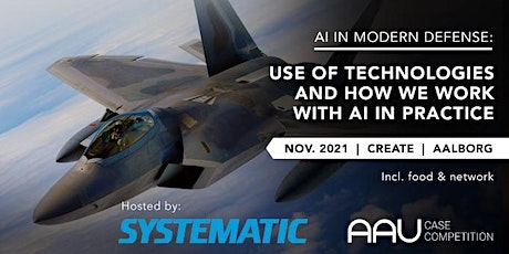 SYSTEMATIC - AI IN MODERN DEFENSE tickets