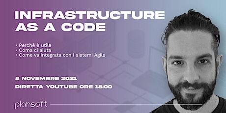 Infrastucture as a code: perché è utile e come integrarla in sistemi Agile. biglietti