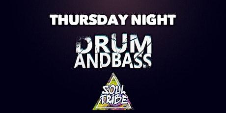 Soul Tribe Presents: DNB THURSDAYS ft Vibe Selektaz, PoisonHyphy, ALXA tickets