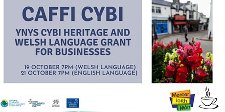 Caffi Cybi - Ynys Cybi Heritage and Welsh Language Grant for Businesses tickets