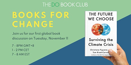 The DO Book Club | Books For Change tickets