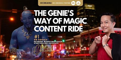The Genie's Way of Magic Content Ride (USD-Nov) tickets