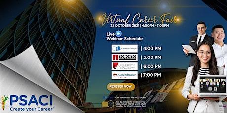 PSACI Virtual Career Fair (Oct 23, 2021) entradas