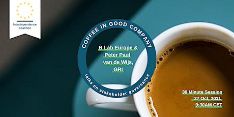 Coffee in Good Company with Peter Paul van de Wijs from GRI tickets