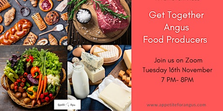 Appetite for Angus Food Producers Virtual Get Together tickets