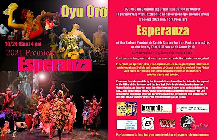 Esperanza - Afro Cuban Dance Performance image