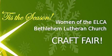 Craft Fair - Bethlehem Lutheran Church tickets
