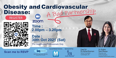 Obesity and Cardiovascular Disease: A BAD PARTNERSHIP tickets