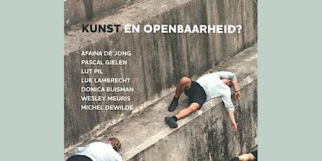 9000Boeken - Presentatie van het boek 'Kunst en Openbaarheid' tickets
