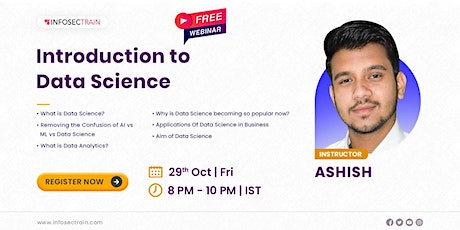 Free Live Webinar for Introduction to Data Science tickets