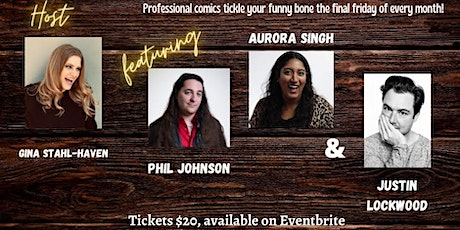 Final Funny Friday: Live Stand-Up Comedy at the Way Station tickets