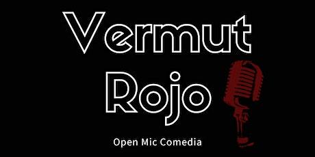 Vermut Rojo Open Mic Comedia (monólogos) entradas