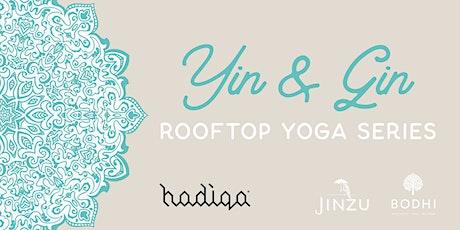 Yin & Gin Rooftop Yoga Series | November tickets