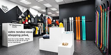 shopping privé - blackcrows paris nest billets