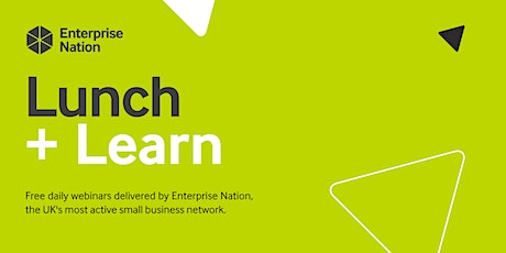 Lunch and Learn: Why having a purpose matters to your profits tickets