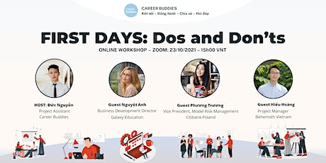WS4 - FIRST DAYS - DOS AND DON'TS tickets
