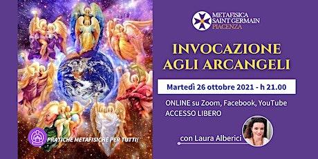 Invocazione agli Arcangeli biglietti