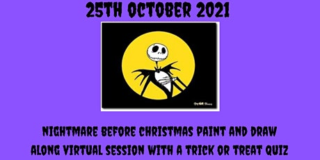 Art Academy Halloween Special - Nightmare Before Christmas art Party tickets