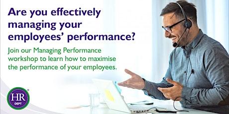 Online Management Essentials workshop: Managing Performance tickets
