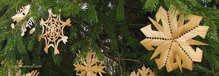 Christmas Straw Ornament Workshop image