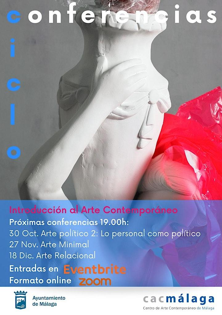 Imagen de Ciclo Conferencias: Arte político 2: Lo personal como político