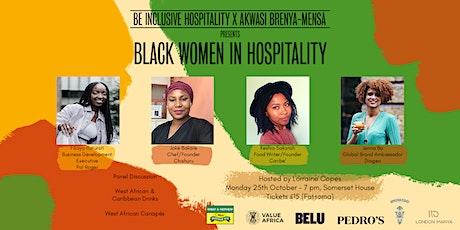Black Women in Hospitality tickets