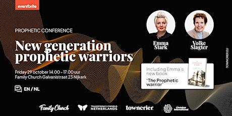New generation prophetic warriors - Emma Stark & Volke Slagter [EN/NL] tickets