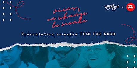 [TECH FOR GOOD] La Tech au service de l'entrepreneuriat social - Social cup billets