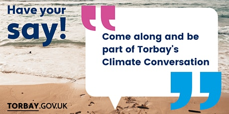 Torbay Council's Climate Conversation tickets