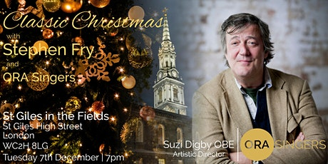 Classic Christmas with Stephen Fry tickets