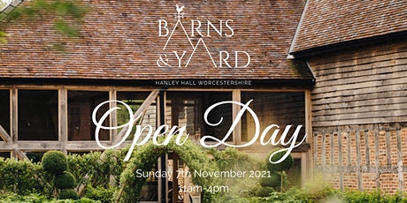 Barns & Yard Autumn Open Day tickets