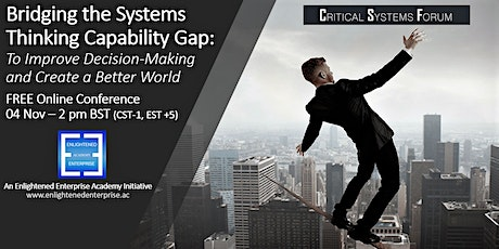 Bridging the Systems Thinking Capability Gap tickets