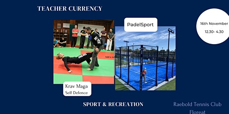Sport and Recreation VET Currency Afternoon tickets