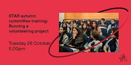 Autumn committee training: Running a volunteering project tickets