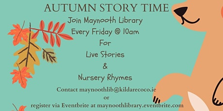 Live Story Time & Sing Along Nursery Rhymes  November  5th tickets