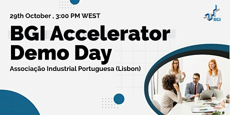BGI Accelerator Demo Day bilhetes