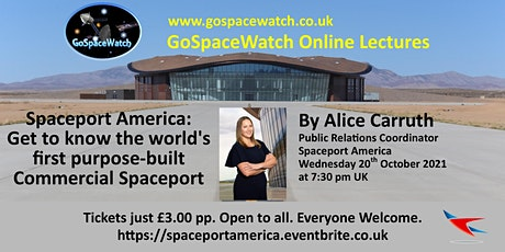 Spaceport America. The world's first purpose-built commercial Space Port tickets