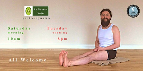 YOGA in GALWAY CITY - Laurence tickets