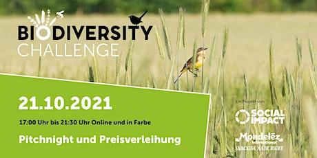 Biodiversity Challenge Pitchday und Preisverleihung Tickets