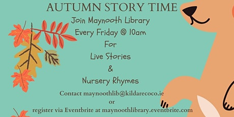 Live Story Time & Sing Along Nursery Rhymes November   12th tickets