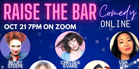 Raise the Bar Comedy Online tickets