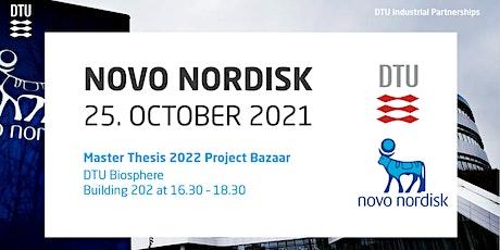 Novo Nordisk Master Thesis 2022 Project Bazaar tickets