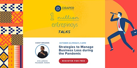 #1MEntrePinoyTalks: Strategies to Manage Business Loss during the Pandemic tickets